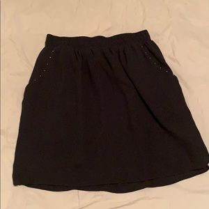 Black Mossimo Stretchy Band Skirt WITH POCKETS 😱